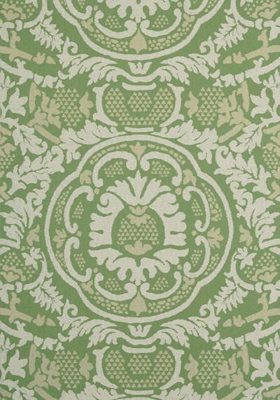 Earl Damask - Green