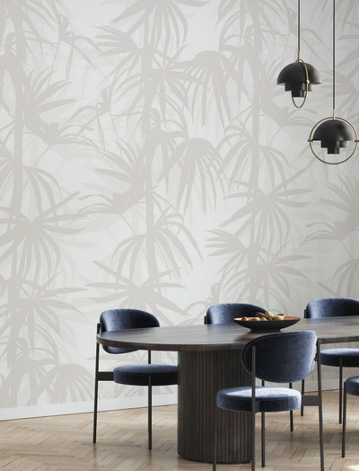 Mural - Stylistic Palms Bright (Per Sqm)