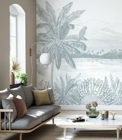 Mural - Parrots Home (Per Sqm)