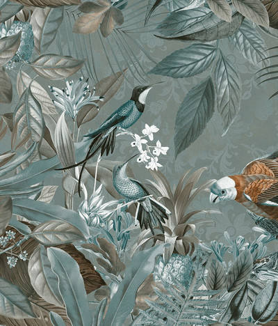 Mural - Tropical Jungle (4m X 2.7m)