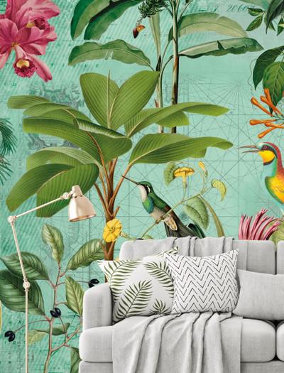 Mural - Tropical Paradise (4m X 2.7m)