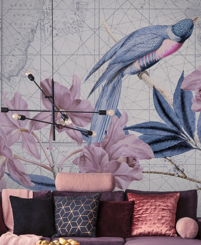 Mural - Birds Discovery II (4m X 2.7m)
