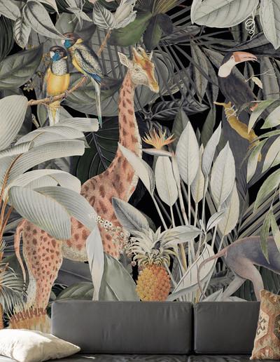 Mural - Animals (4m X 2.7m)