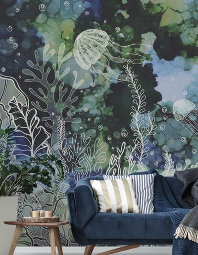 Mural - Under Watercolour (4m X 2.7m)