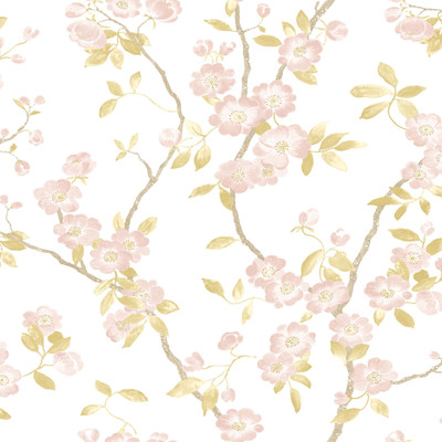 Spring Flower - Blush / White