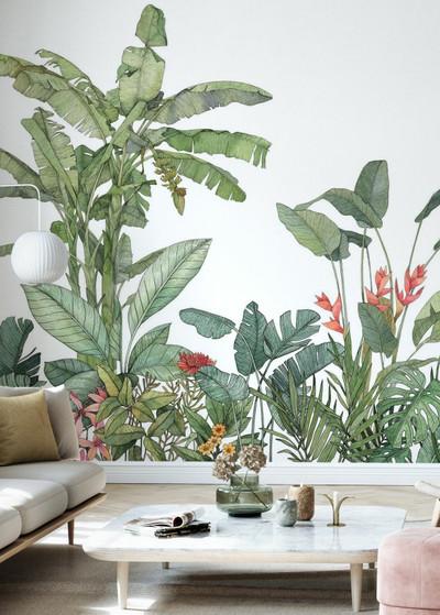 Mural - Tropical Foliage (Per Sqm)