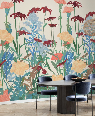 Mural - Native Fauna Bright (Per Sqm)