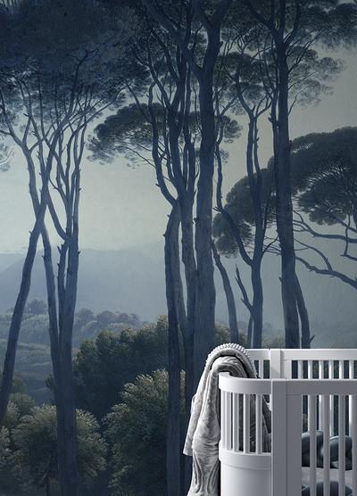 Mural - Twilight Forest (Per Sqm)
