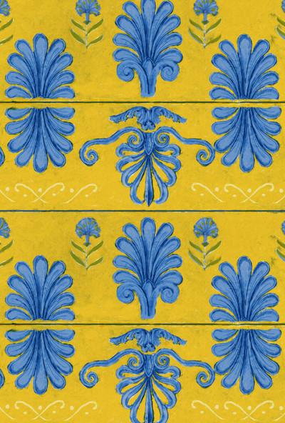 Mykonos Villa Motif - Lemon