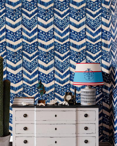 Turkish Ikat - Indigo Blue