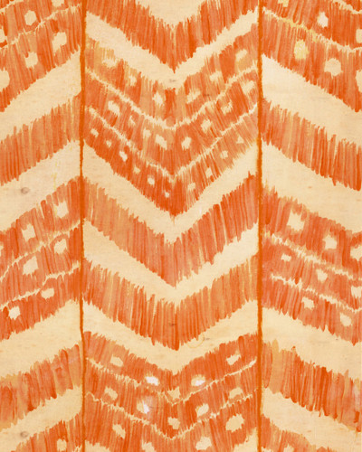 Turkish Ikat - Tangerine