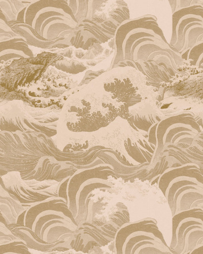 Sea Waves - Taupe