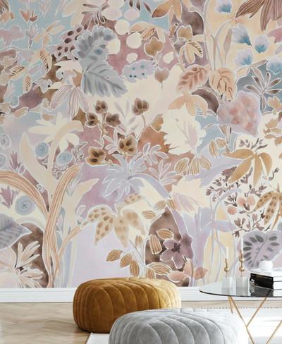 Mural - Eve's Foliage (Per Sqm)