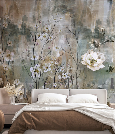 Mural - Cherry Tree (Per Sqm)
