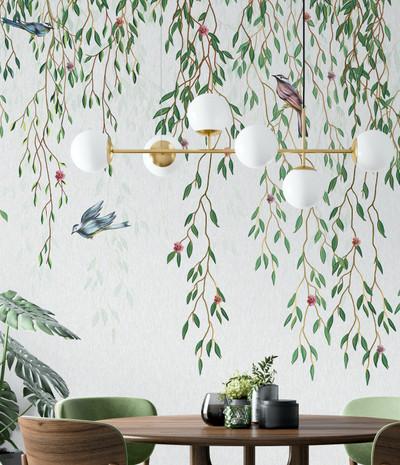 Mural - Trailing Flora (Per Sqm)