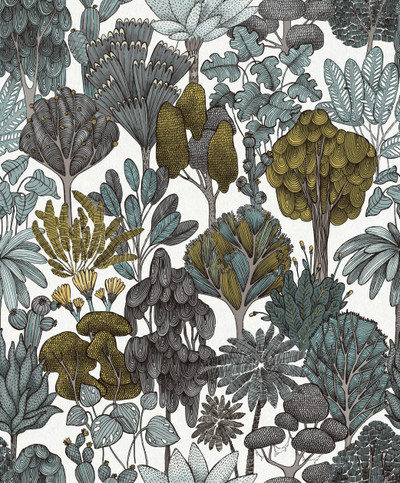 Botany Tree - Grey / Ochre