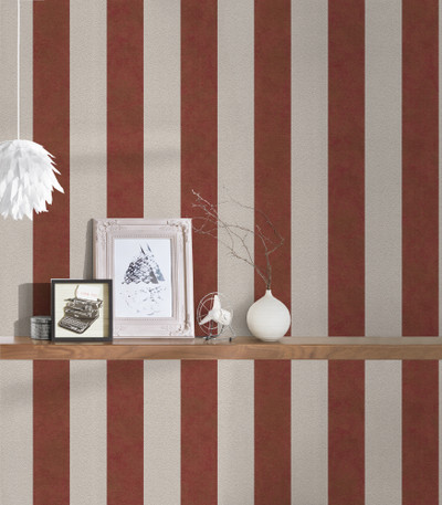 Perry Stripe - Red