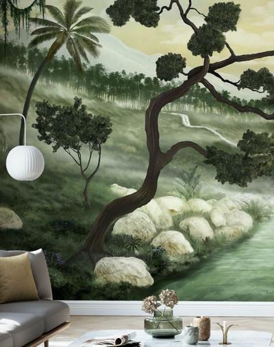 Mural - Tropical Flume (Per Sqm)