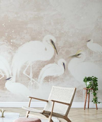Mural - Heron Beige (Per Sqm)