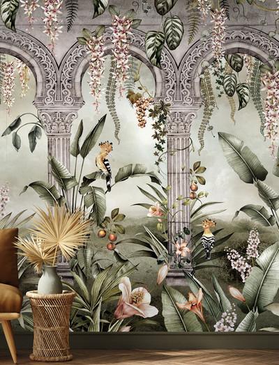 Mural - Gardens Of Petra Ivy (Per Sqm)