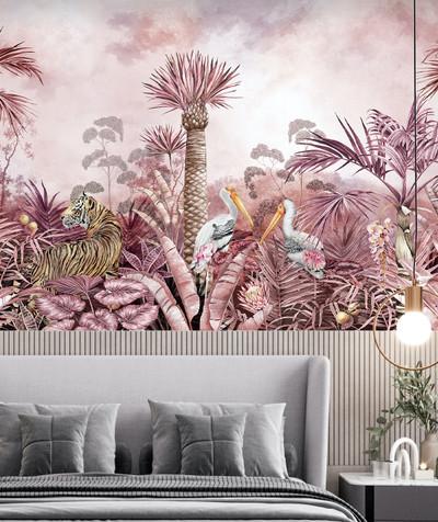 Mural - Mulberry Tigress (Per Sqm)