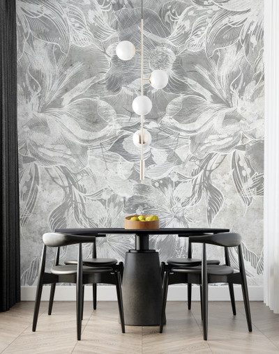 Mural - Devon Cement Grey (Per Sqm)