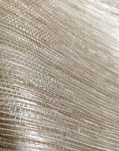 Faux Grasscloth - Warm Gold