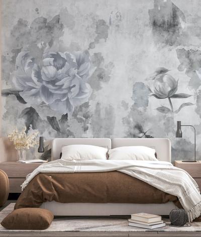 Mural - Khloe Grey (Per Sqm)