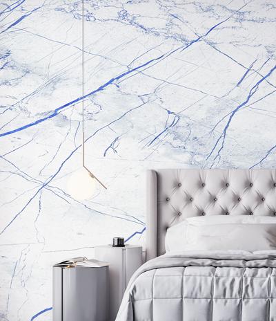 Mural - Palatial Blue / White (Per Sqm)