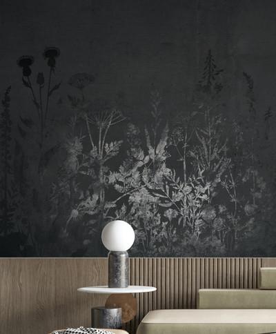 Mural - Midnight Meadow (Per Sqm)