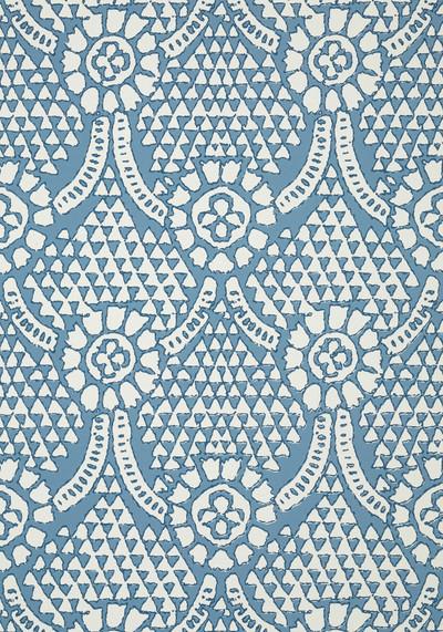 Chamomile - Blue / White