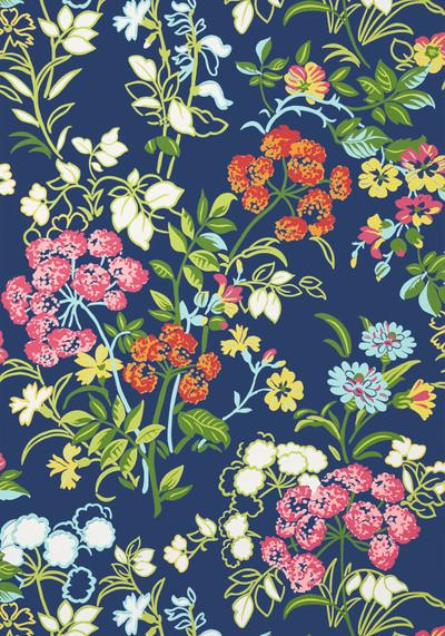 Spring Garden - Navy