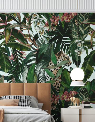 Mural - Cheetah Mania (Per Sqm)