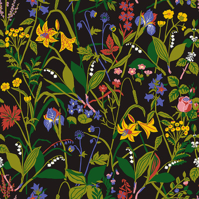 Lilja - Multicolour / Black