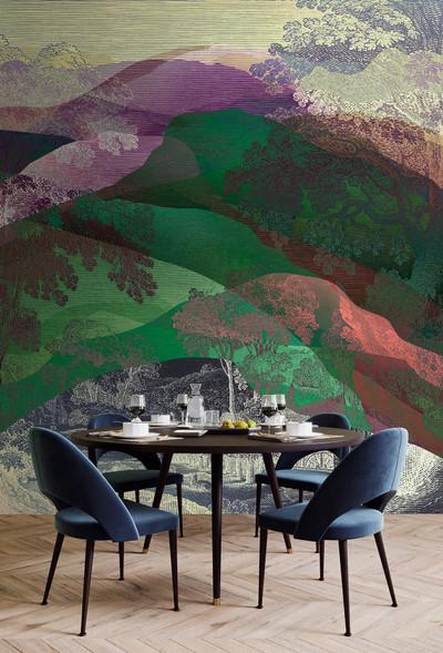 Mural - Hidden Valley 1  (4m x 2.7m)