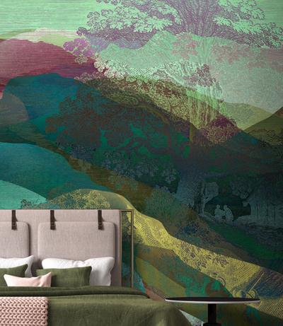 Mural - Hidden Valley 2  (4m x 2.7m)
