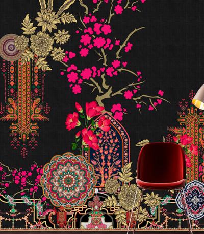 Mural - Oriental Garden 2 (4m x 2.7m)