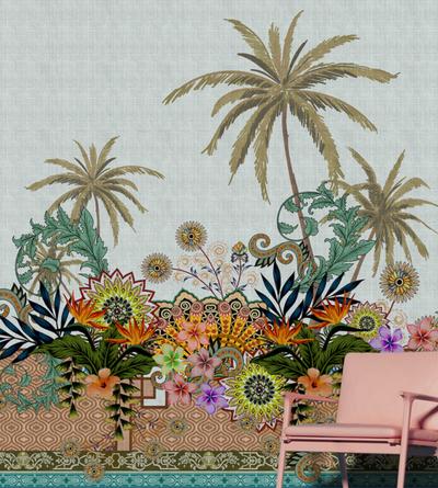 Mural - Oriental Garden 3 (4m x 2.7m)