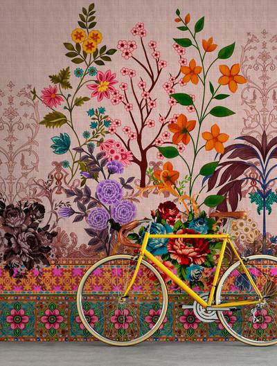 Mural - Oriental Garden 4 (4m x 2.7m)