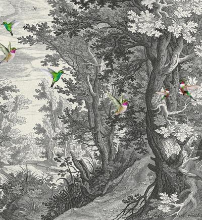 Mural - Fancy Forrest 1 (4m x 2.7m)