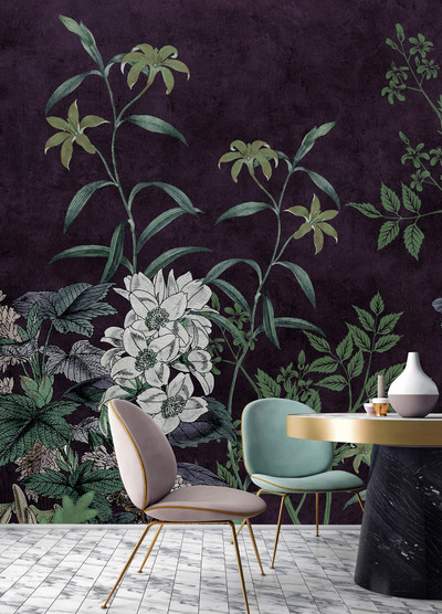Mural - Dark Room 1 (4m x 2.7m)