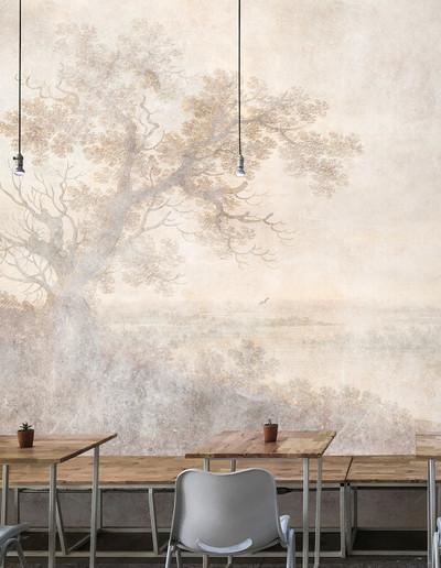 Mural - Romantic River 1 (4m x 2.7m)