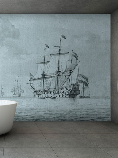 Mural - On The Sea 1 (5m x 2.7m)