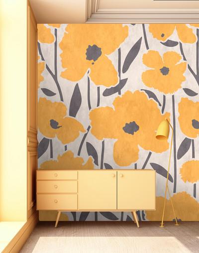 Mural - Flower Market 2 (1.8m x 2.7m)