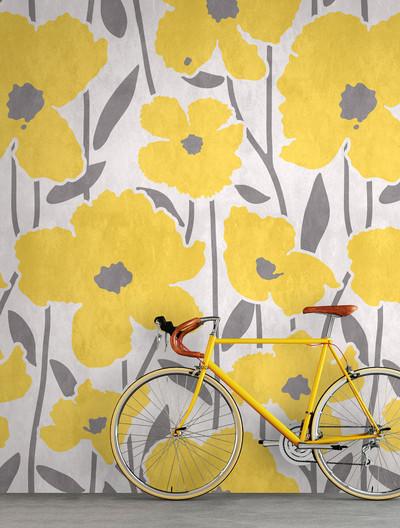 Mural - Flower Market 4 (1.8m x 2.7m)
