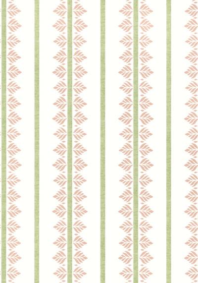Fern Stripe - Blush
