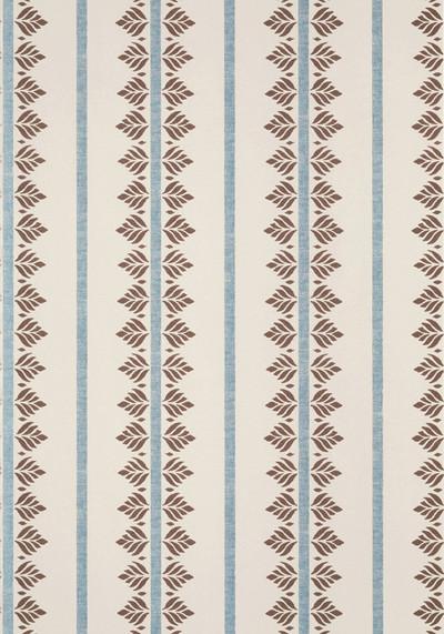 Fern Stripe - Brown / Slate