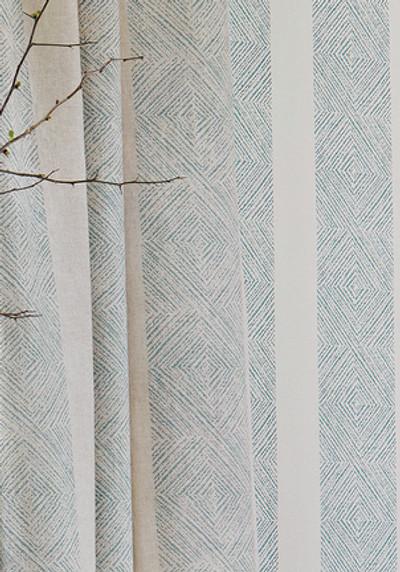 Clipperton Stripe - Blue / Natural