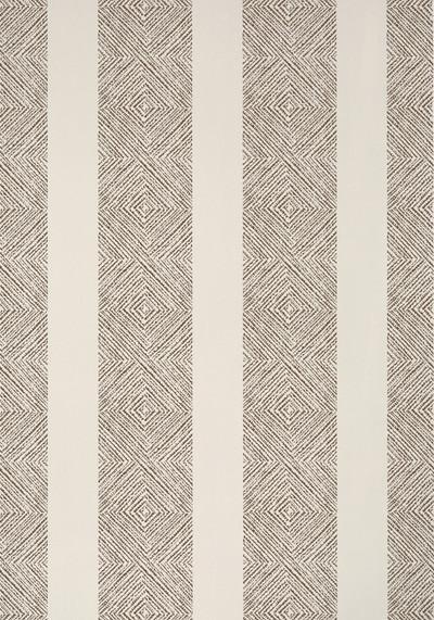 Clipperton Stripe - Brown /  Natural
