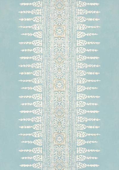 Javanese Stripe - Spa Blue